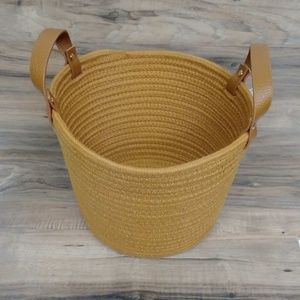 Orange Rope Basket